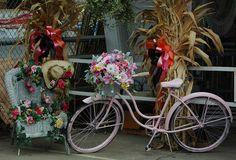 Shabby Chic Bike 1 by Kimberly Baird-Stephenson Photography, via Flickr