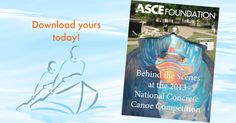 Sign up for the Foundation eNews and get the 2013 Concrete Canoe eBook free!