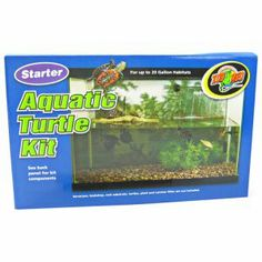 Starter Aquatic Turtle Kit  available at #petm