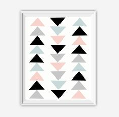This set of four digital art printables features boho-inspired feathers, arrows, triangles and mountains in soft teal, pink, black and gray. They would look great framed and hung as a set - or individually - in a dorm room or in a kids bedroom. To view our other ART PRINT SETS, just follow this link - https://www.etsy.com/shop/JustPeachyPrintables?ref=hdr_shop_menu&search_query=sets  **Please note that this listing is for a set of 4 DIGITAL FILES that you can...
