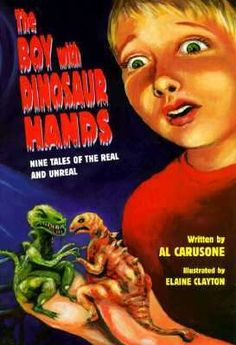 the boy with dinosaur hands