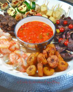 Funke Koleosho's Food Blog: Pick & Dip Platter