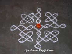 KOLAM - (In Tamil Language) are designs drawn using rice powder in front of the house, praying, Goddess Lakshmi to bestow prosperity. Henna Art Designs, Rangoli Designs Flower, Rangoli Kolam Designs, Rangoli Ideas, Rangoli Designs With Dots, Rangoli Designs Images, Kolam Rangoli, Rangoli With Dots, Beautiful Rangoli Designs