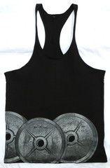 Bodybuilding Gym Stringer Racerback Vest back low scoop Singlet  Train Insaiyan