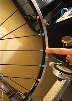 Bike wheel truing tutorial
