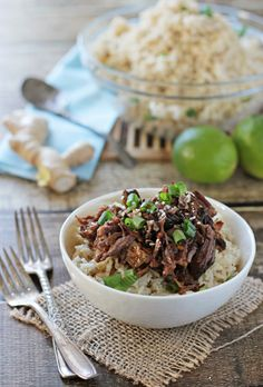 50 Healthy Slow Cooker Recipes - Crockpot Asian Short-ribs