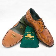 Robinson's shoe makers Andrew Jackson Brogue