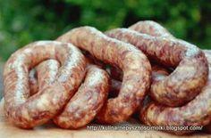 Zdjęcie: Pyszna domowa kiełbasa wędzona Kielbasa Sausage, Polish Recipes, Smoking Meat, Sausage Recipes, Charcuterie, Dinner, Food, Butcher Shop, Kitchens