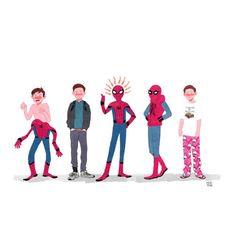 machomachi : spider man