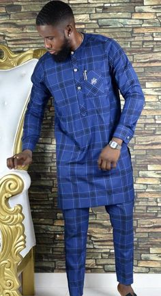 African Wear Styles For Men, African Shirts For Men, African Dresses Men, African Attire For Men, African Clothing For Men, African Suits, African Masks, African Style, Nigerian Men Fashion