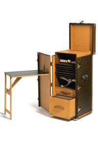 Louis Vuitton Desk Trunk, made for Leopold Stokowski