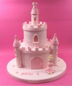 Princess castle cake. Inspired by Debbie Brown.