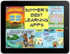 Best Summer Learning Apps for Kids