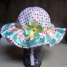 Sombrero de niña modelo YM6575C