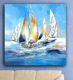 Sailing artwork