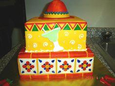Mexican Fiesta Cake, via Flickr.