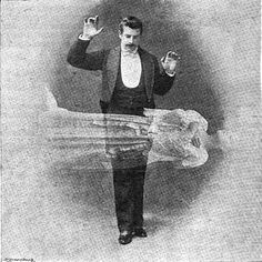 An illustration of levitation from an 1897 issue of The Strand magazine