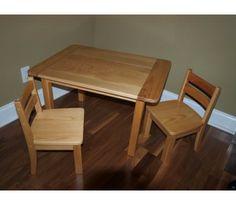 Childrens Farmhouse Table & Chair Set
