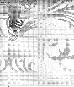 Borduurpatroon Kruissteek Mucha *Embroidery Cross Stitch Pattern ~Byzantine Heads: BLONDE (1897) 17/18~