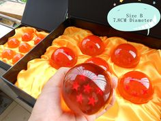 DBZ Crystal balls 7.8 cm size! My inner child is going to take over!