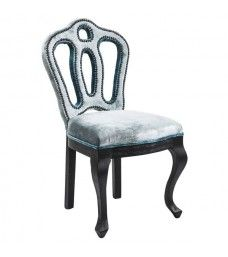 silla barroca Royal gris