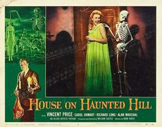 House on Haunted Hill (Allied Artists, 1959)- one of the first 'scary' movies I ever watched