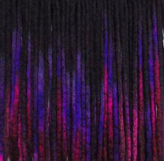 42DE Purple Berry Locs 2026 Total Length  4052 by NVCL3ARBVTT3RFLY #corriedale #black #ombre #hair #purple #berry #violet #wool #dreads #rainbow #ooak #diy #dreadlocks #natural #hairstyles #extension #lightweight #gothic #cyber #goth #chalk #vivid #locks #blackrainbow #cheyennelehale #nvcl3arbvtt3rfly