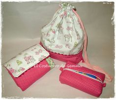 Canastilla de bebe: mochila, cambiador y bolsa de toallitas