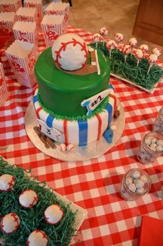 Baseball Themed bday party
