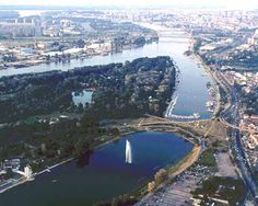 Belgrade, city on two major rivers, the Danube and Sava river
