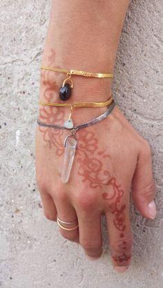 #SZMER-craft #bracelet #ring #silver #golden #jewellery #multikulti #henna