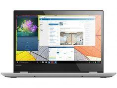 "Notebook 2 em 1 Lenovo Yoga 520 Intel Core i7 8GB - 1TB LED 14"" Touch Screen Windows 10"