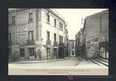 Calendario Imatges del Sabadell antic del 1999: Entrada al carrer de l' Alt Pedregar (num.39) - Foto 1