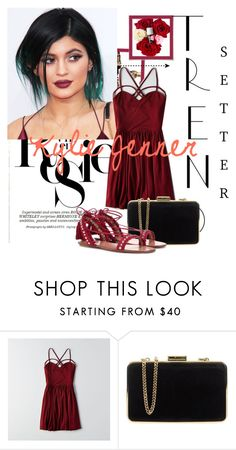 """""""Untitled #269"""" by anjezaa ❤ liked on Polyvore featuring Whiteley, American Eagle Outfitters, MICHAEL Michael Kors and Aquazzura"""