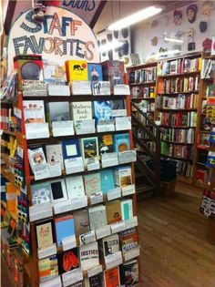 You develop a crush on a bookstore employee based solely on their staff picks.