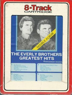 THE EVERLY BROTHERS Greatest Hits 8 TRACK TAPE MUSIC ALBUM