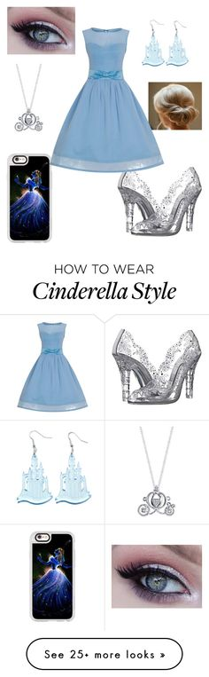 """""""Cinderella"""" by smelb0rp on Polyvore featuring Casetify, Dolce&Gabbana and Disney"""