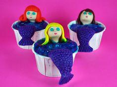Mermaid Cupcakes tutorial