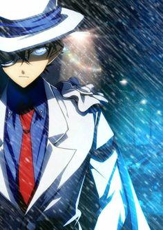 Calm Down Kid, Your Precious Uke Is Fine, include his ass 😂 Detective Conan Shinichi, Manga Detective Conan, Kaito Shion, Kaito Kuroba, Magic Kaito, Sherlock, Cool New Gadgets, Amuro Tooru, Kaito Kid