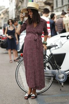 Gallery: Women's Street Style at Milan Fashion Week - Spring 2015 menswear - Photo by Anthea Simms