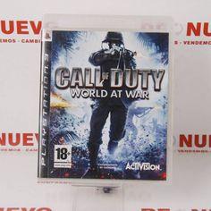 juego  PS3 CALL OF DUTY WORLD AT WAR E272270 #videojuego #ps3 #callofduty #segundamano