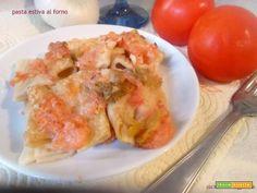 Pasta estiva al forno  #ricette #food #recipes