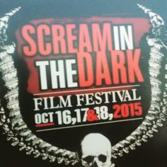 The 2nd Annual Scream in the Dark Film Festival. The special guests tonight were Teri McMinn and John Dugan from Texas Chainsaw Massacre. Loved it.