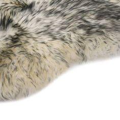 Covor din blană de oaie, gri închis melanj, 60 x 90 cm Sheepskin Rug, Korn, Facon, Dark Grey, Armchair, Interior Decorating, Villa, Rugs, Colour Colour