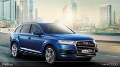 Tecnologias que vem das pistas de corrida direto para as ruas das grandes cidades.  Deslumbre-se com a imponência do Audi Q7.  #Audi  #AudiLovers #AudiQ7 #Love #AudiAutomovel #AudiCenterBH #Car #AudicenterBH #Auto