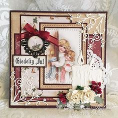 Hope you like this Christmas card, made from The Night before Christmas. Have a wonderful day! Marianne. Pion products: The night before Christmas – Snowflake magic PD7807 The night before Christma…