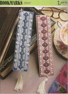 Bookmarks Plastic Canvas Patterns by needlecraftsupershop on Etsy, $3.00