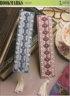 Bookmarks Plastic Canvas Patterns by needlecraftsupershop on Etsy, $3.00