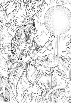 Pagan Adult Colouring Pages 2