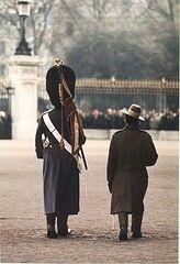 Guardsman & Gurkha